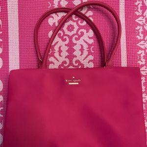 EEUC used once Kate spade small fuchsia purse